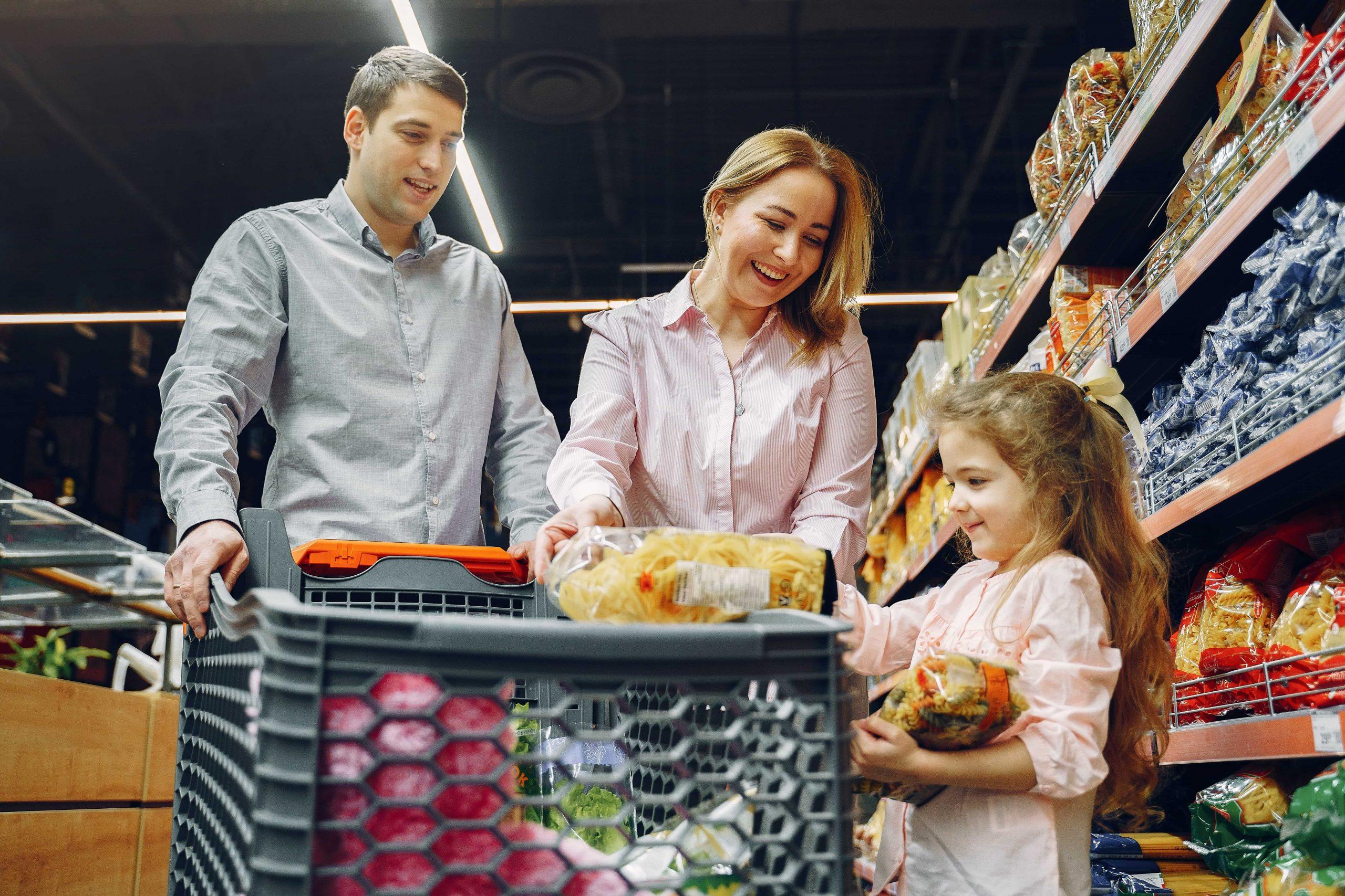 nakupování jídla